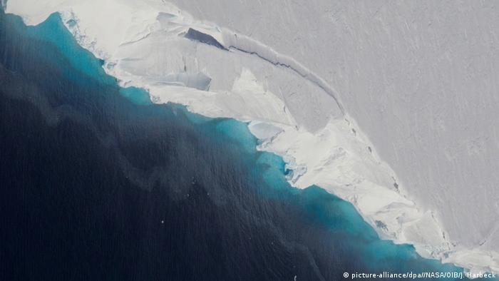 Antarktis Thwaites-Gletscher (picture-alliance/dpa//NASA/OIB/J. Harbeck)