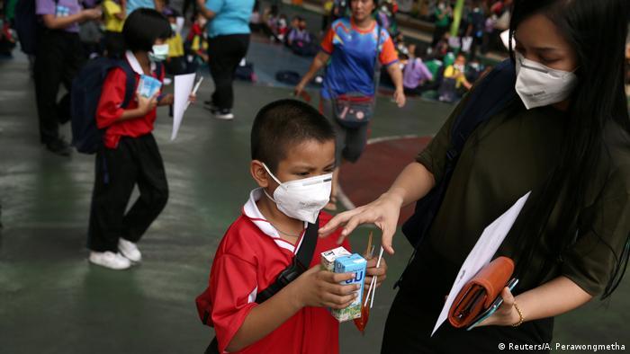 Thailand | Luftverschmutzung in Bangkok (Reuters/A. Perawongmetha)
