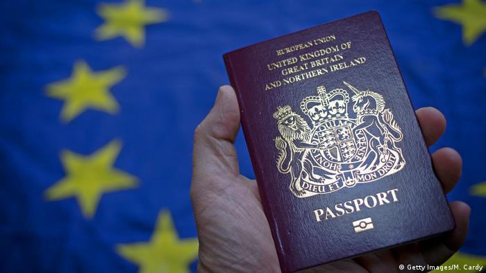 Brexit Reisepass