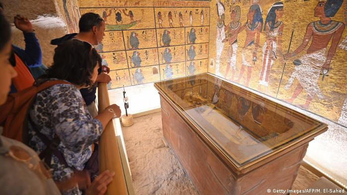 Ägypten Restauration Grab Pharao Tutanchamun