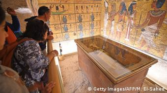 Ägypten Restauration Grab Pharao Tutanchamun (Getty Images/AFP/M. El-Sahed)