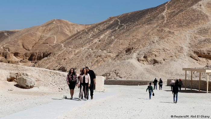 The Valley of the Kings in Egypt