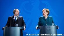 01.02.2019 *** 01.02.2019, Berlin: Bundeskanzlerin Angela Merkel (CDU) und Nikol Paschinyan, Ministerpräsident von Armenien, äußern sich bei einer Pressekonferenz nach ihrem Gespräch im Bundeskanzleramt Foto: Bernd von Jutrczenka/dpa +++ dpa-Bildfunk +++   Verwendung weltweit