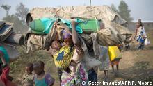 Afrika Flucht Flüchtlinge in DR Kongo