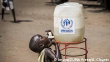 Afrika Flucht südsudanesischer Flüchtling in Uganda