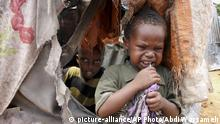 Afrika Flucht Daryeel Kamp in Mogadishu