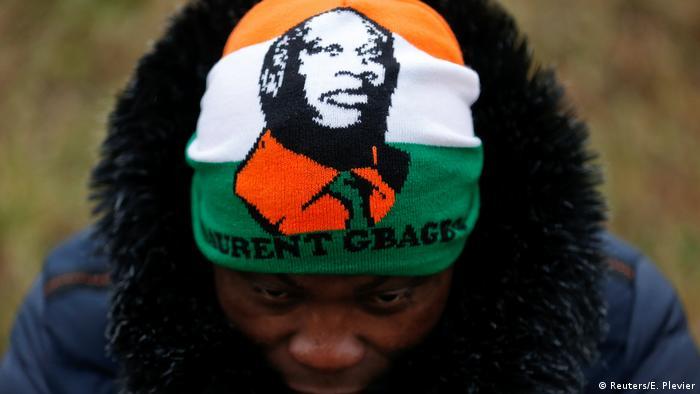 Niederlande Internationaler Strafgerichtshof in Den Haag   Freispruch für Laurent Gbagbo, Freude Anhänger (Reuters/E. Plevier)