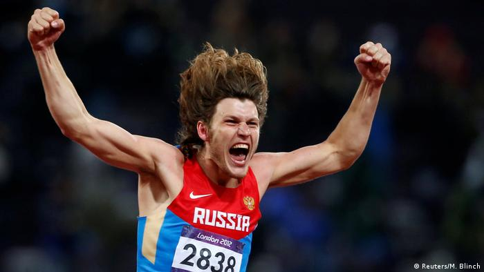 Ivan Ukhov Russian track and field athlete (Reuters/M. Blinch)