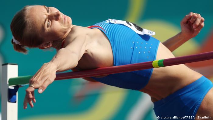 Экс-чемпионка мира по прыжкам в высоту Светлана Школина