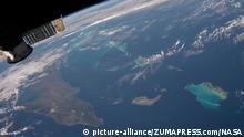 Die Karibik aus dem Weltraum