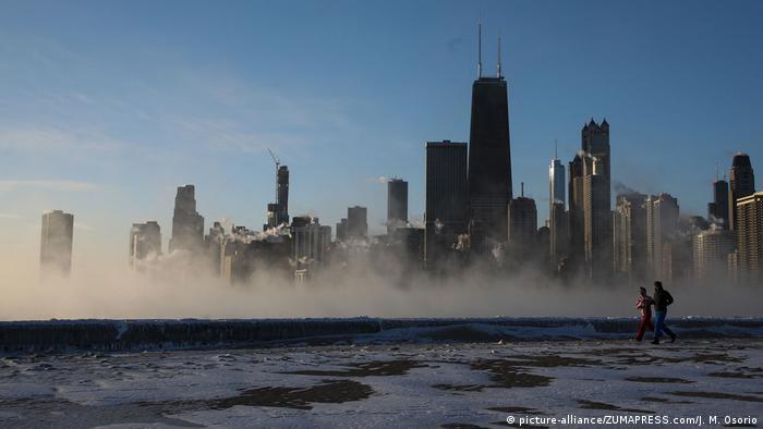 Chicago skyline (picture-alliance/ZUMAPRESS.com/J. M. Osorio)