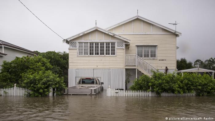 BG Wetteraberationen   Hochwasser in Townsville, Australien