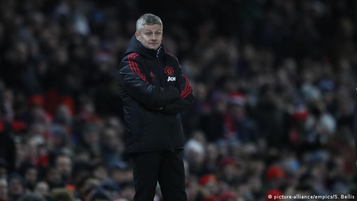 Fußball UK Premier League | Manchester United v Burnley | Trainer Ole Gunnar Solskjaer