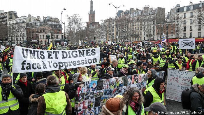 Frankreich Gelbwesten | Protest in Paris (Getty Images/AFP/Z. Abdelkafi)