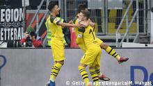 Bundesliga 20. Spieltag   Eintracht Frankfurt vs. Borussia Dortmund   1. TOR Dortmund