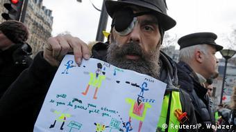 Jérôme Rodrigues a perdu un œil lors d'une manifestation