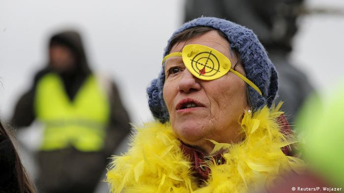 Frankreich Gelbwesten-Protest in Paris (Reuters/P. Wojazer)