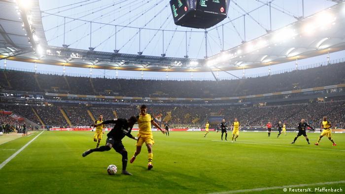 Bundesliga 20. Spieltag   Eintracht Frankfurt vs. Borussia Dortmund