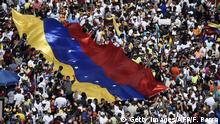 Venezuela Protest & Demonstration gegen Nicolas Maduro in Caracas