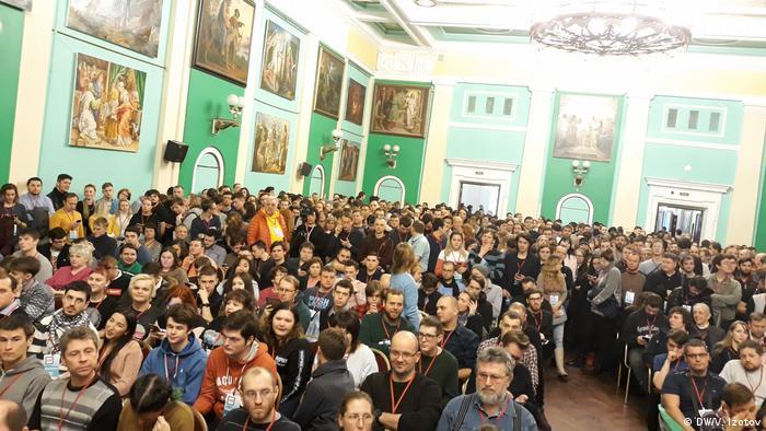 Участники встречи с Навальным