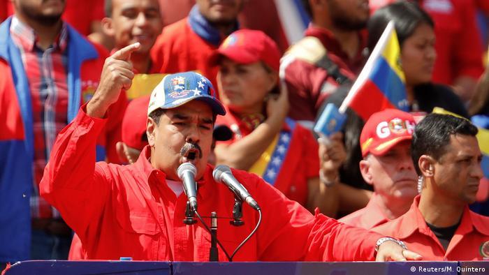 Venezuela Caracas Rede Nicolas Maduro (Reuters/M. Quintero)