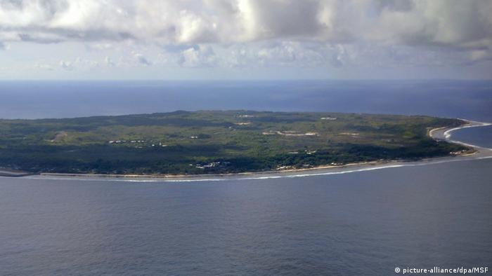 Nauru Flüchtlingslager (picture-alliance/dpa/MSF)