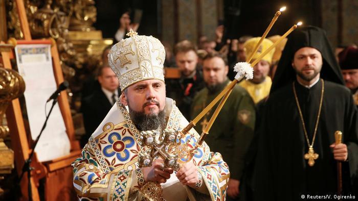 Митрополит Епіфаній - предстоятель Православної церкви України