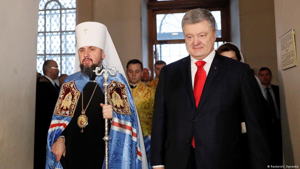 Ukrainian Orthodox head enthroned, Russia fuming   News   DW