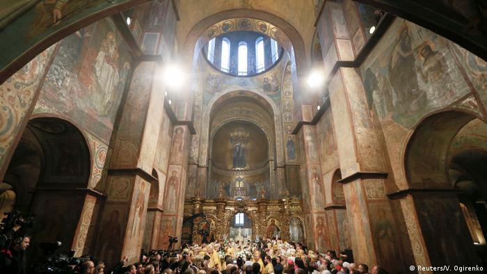Inthronisation des Leiters der Ukrainischen ortodoxen Kirche Epiphanius