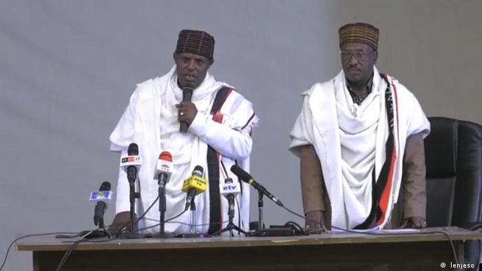 Äthiopien Oromo-Parteien Versöhnung