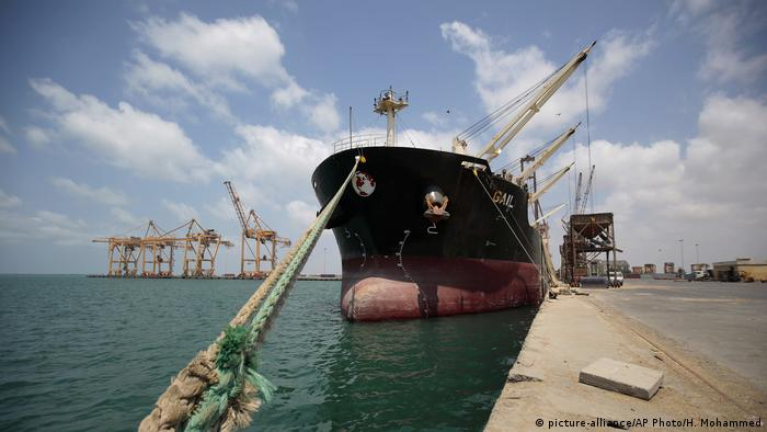 The UN ship where Yemen's warring parties met for talks