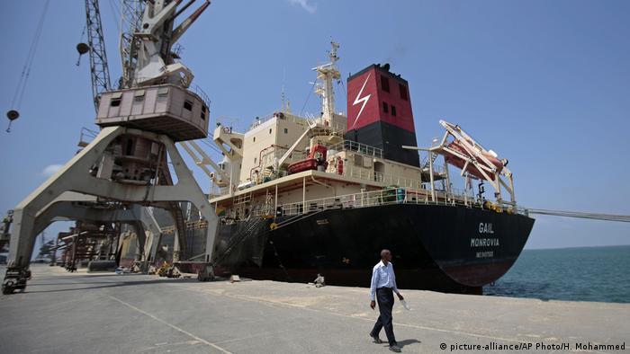 Hafen von Hudeida (im November)