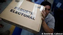 El Salvador Präsidentschaftswahl | Wahllokal in San Marcos