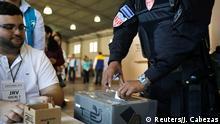 El Salvador Präsidentschaftswahl 2019 | Wahllokal in San Salvador