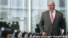 Deutschland Wirtschaftsminister Peter Altmaier