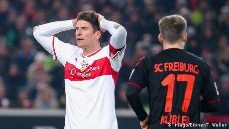 Deutschland Bundesliga VfB Stuttgart v Sport-Club Freiburg | Mario Gomez (imago/Eibner/T. Weller)