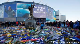 Premier League - Cardiff City Stadion Trauer Sala