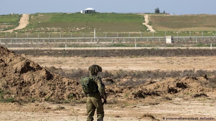 Israel Grenze Gazastreifen Zaun