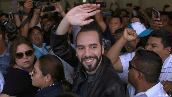 El Salvador Präsidentschaftswahlen Nayib Bukele