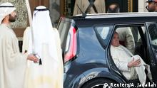 Papst Franziskus in Abu Dhabi (Reuters/A. Jadallah)
