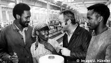 DDR Gastarbeiter aus Mosambik