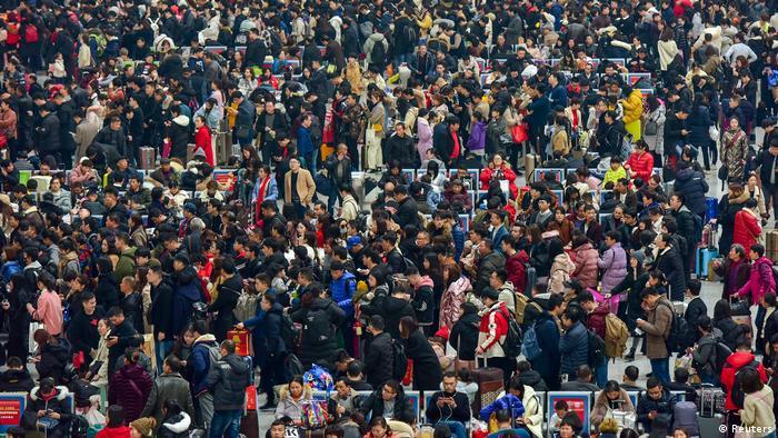 China Reise-Chaos vor chinesischem Neujahr (Reuters)