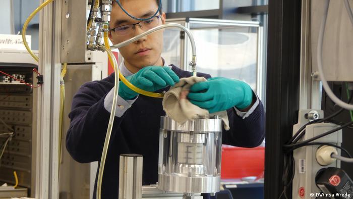 Mann+Hummel resreach lab in Ludwigsburg