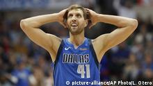 USA Dirk Nowitzki, deutscher Basketballspieler | Dallas Mavericks vs. LA Clippers
