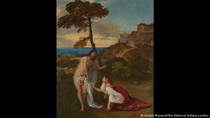 Tizians Gemälde zeigt Christus, der Maria Magdalena erscheint (Foto: Städel Museum/The National Gallery London)
