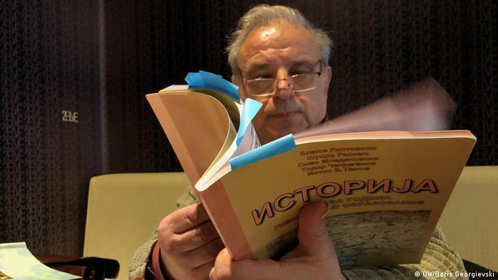 Griechenland Professor Spyridon Sfetas
