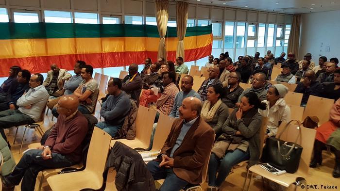 Deutschland Treffen der äthiopischen Diaspora in Frankfurt am Main