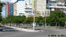 Mosambik Akazienbäume als Verschönerung in Maputo