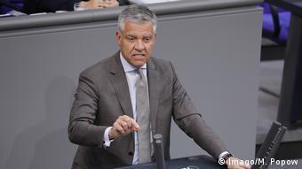 Франк Штеффель у комітеті Бундестагу у закордонних справах є доповідачем правлячої фракції ХДС/ХСС щодо України