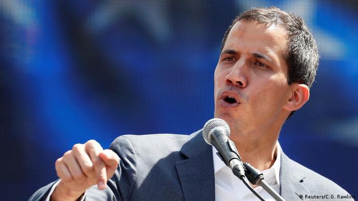 Venezuela Juan Guaido, Oppositionsführer & Interimspräsident in Caracas (Reuters/C.G. Rawlins)